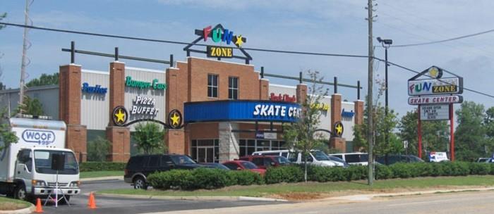 2. Fun Zone Skate Center