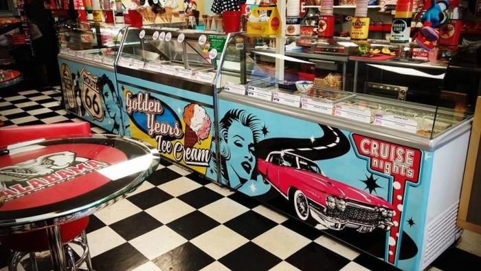 9. Golden Years Ice Cream Parlor