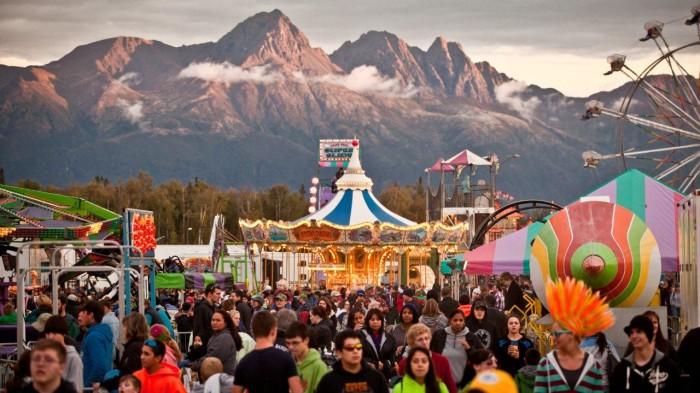 2) Alaska State Fair Flea Market