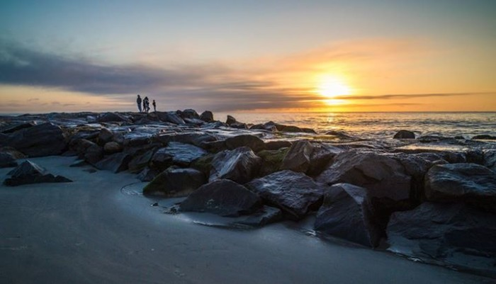 13.  A serene sunrise on Allenhurst Beach, taken by KGS Photo/