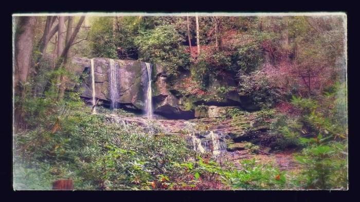 20. Virginia Hawkins Falls taken on the Foothills Trails by Amanda Brand.