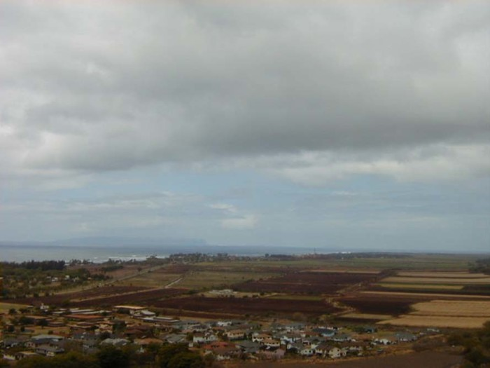 11) Another beautiful shot of a farm overlooking the vast Pacific.