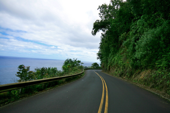 6) Backseat drivers will want to take the wheel while driving on Maui's Road to Hana – the winding roads and sharp cliffs will be scary enough when you are driving, let alone someone else!