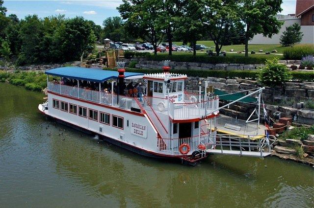 10) Bavarian Belle Riverboat Tour, Frankenmuth