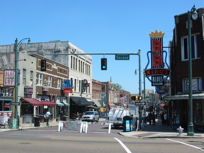 8) Beale Street - Memphis