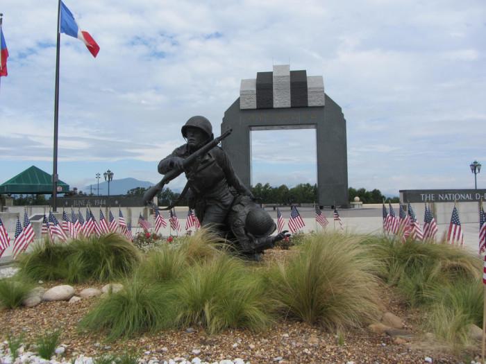 15. Bedford, National D-Day Memorial