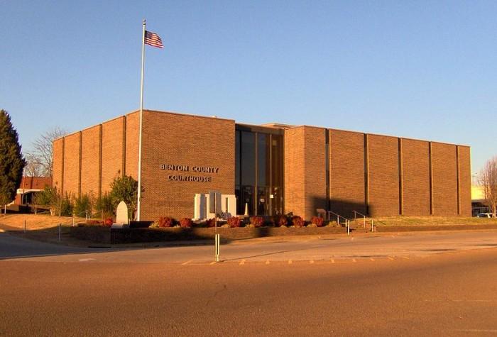 9) Benton County - 35.32 / 10,000