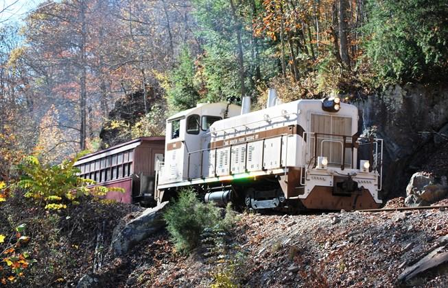 10. Big South Fork Scenic Railroad