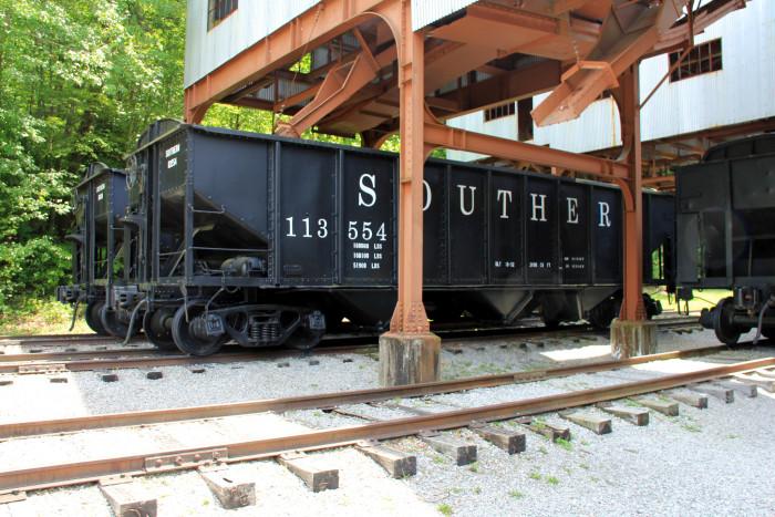 10) Big South Fork Scenic Railway