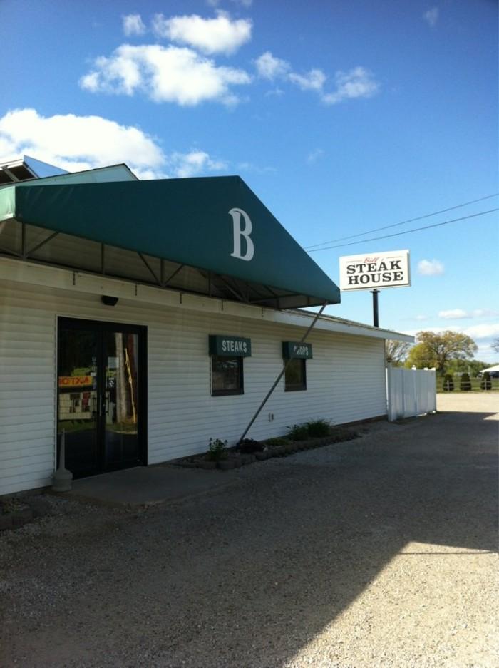 10) Bill's Steak House, Bronson