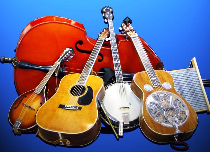 1. Bluegrass music.
