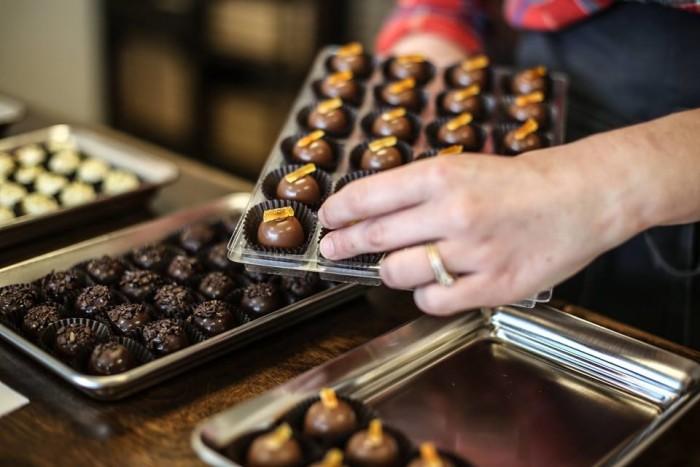 7) Blushing Berry Chocolates - Nolensville
