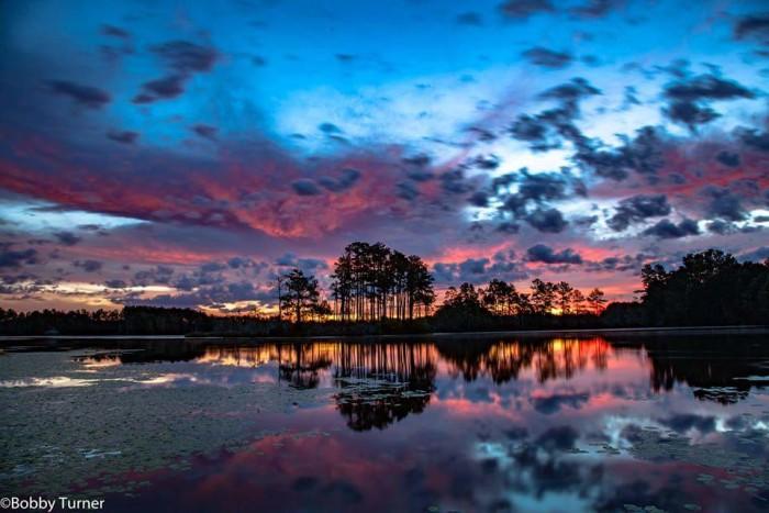 15. Sunrise over Johnsonville taken by Bobby Turner.