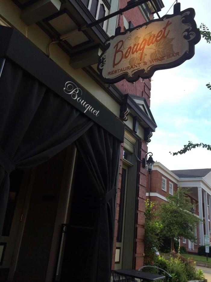 9) Bouquet Restaurant and Wine Bar