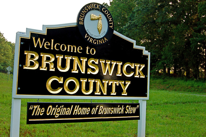 6. Brunswick County (#128) - includes Alberta, Broadnax, Lawrenceville, Gasburg, White Plains and others