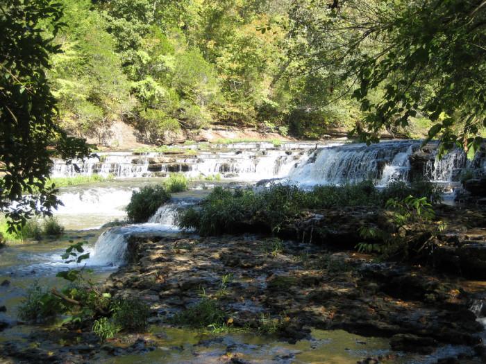 10) Burgess Falls