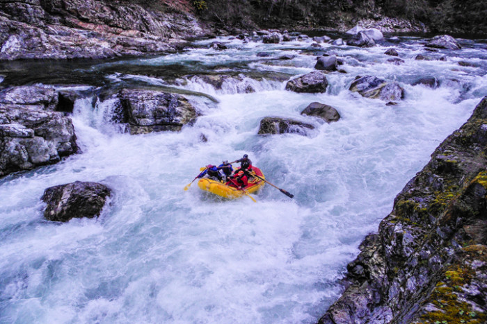 8) Try white water rafting.
