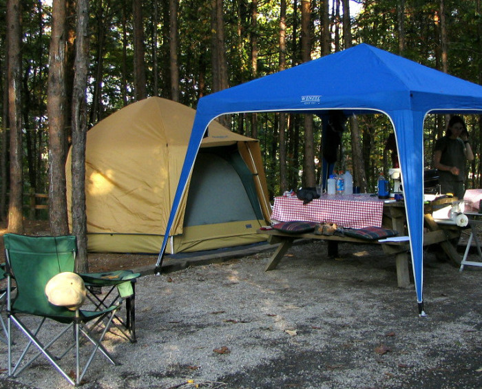 3. Camp Out