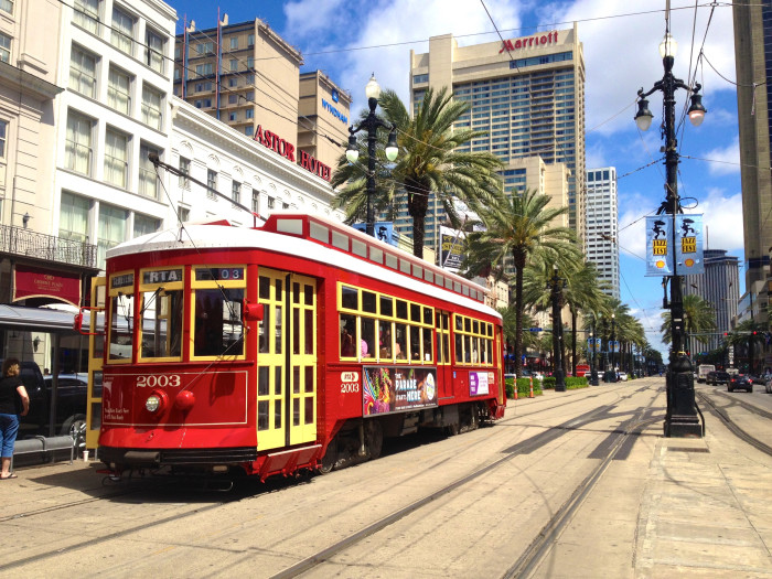 2) New Orleans Streetcars