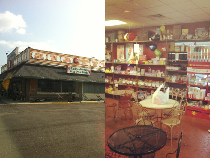 2) Candyland Cottage and Ice Cream Shop