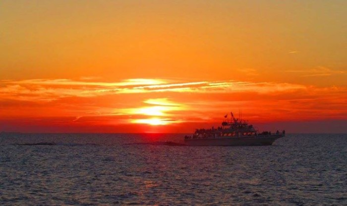 5. A striking sunset in Cape May, taken by Sue Berger.