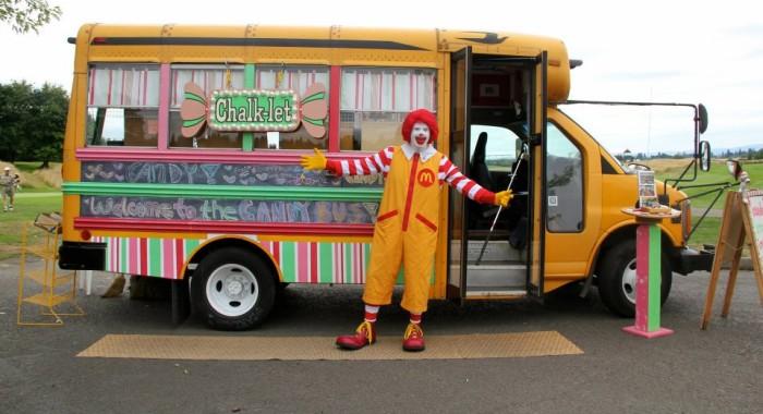 6) Chalk-Let Bus, Portland
