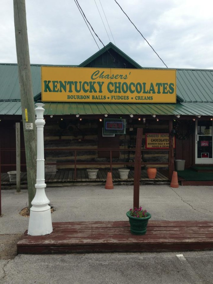 9) Chaser's Kentucky Chocolates