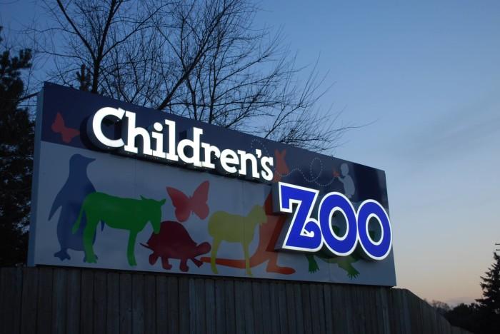 9) Children's Zoo at Celebration Square, Saginaw