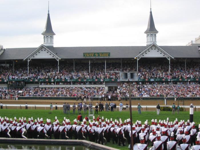 9. Churchill Downs Kentucky Derby.