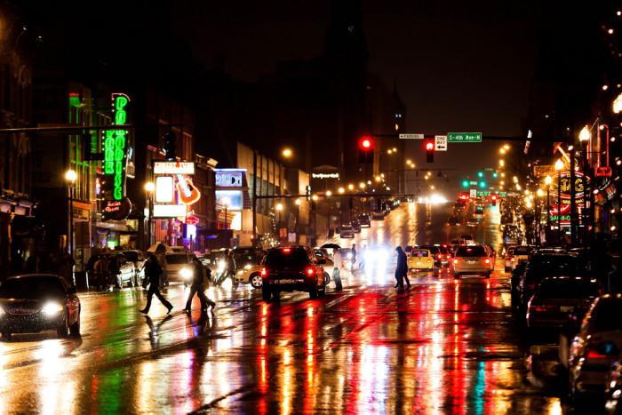 9) Nashville City Streets