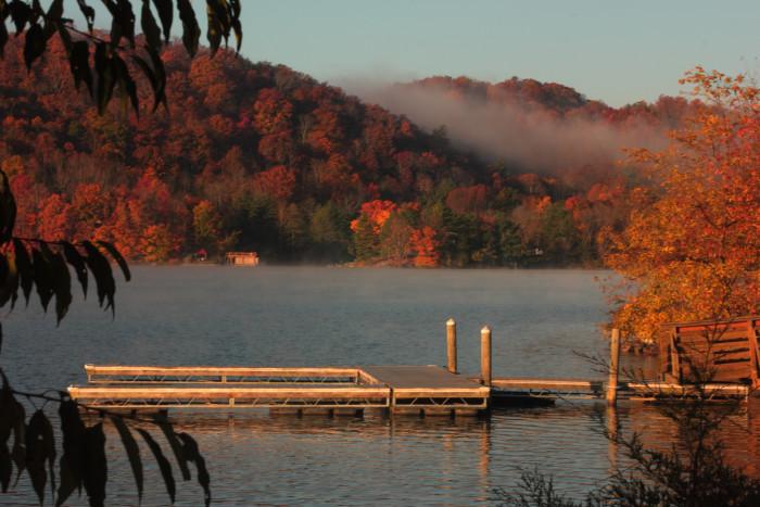 Claytor Lake water