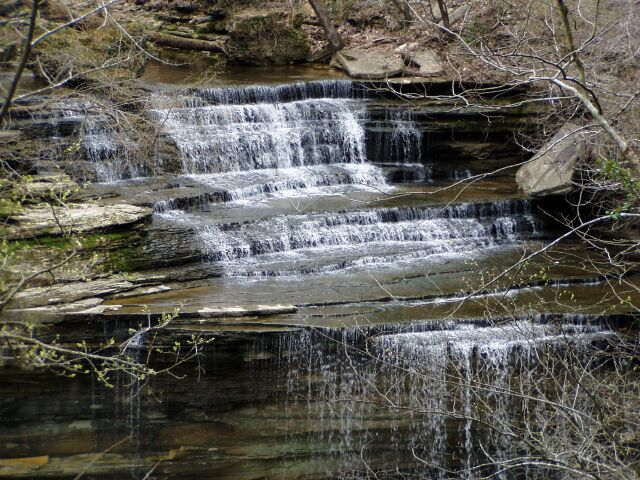 4. Relax by the Waterfalls at Clifty Falls State Park.
