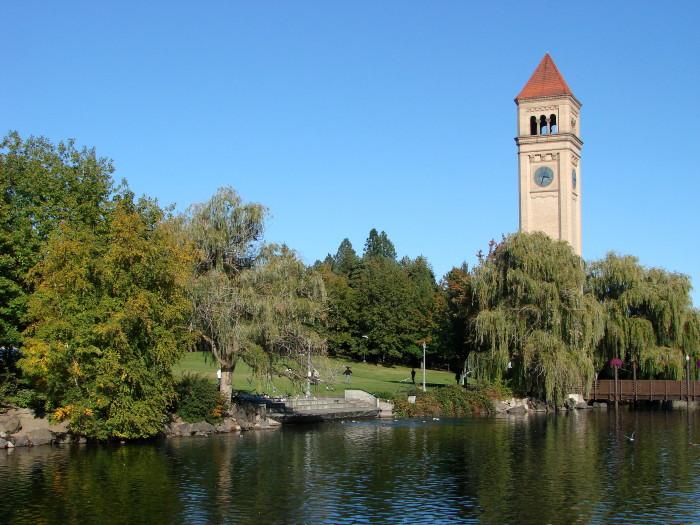 7. Riverfront Park in Spokane