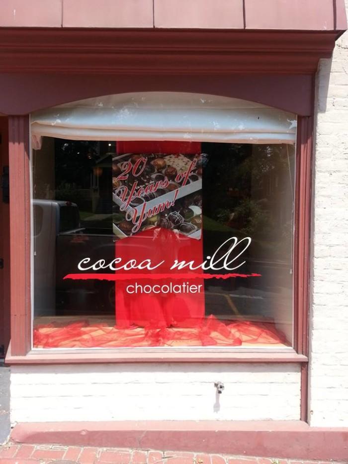 7. Cocoa Mill Chocolatier, Lexington and Staunton