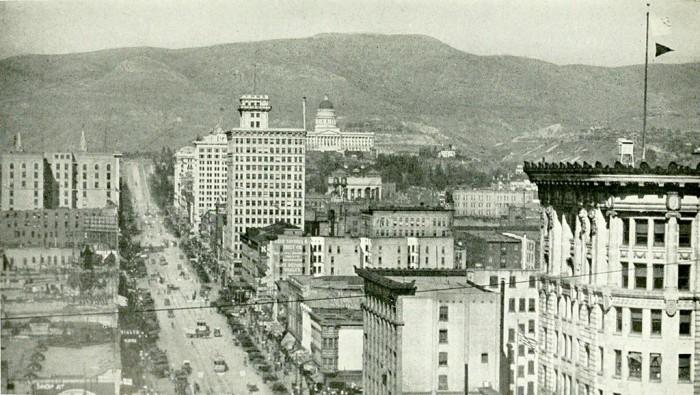 1. Salt Lake City Main Street, 1921