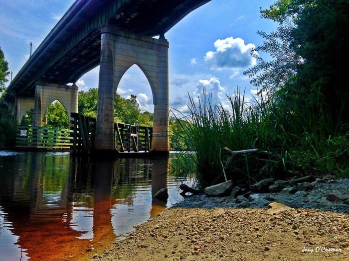 8. Conway's Riverwalk taken by Conway Living-SC.