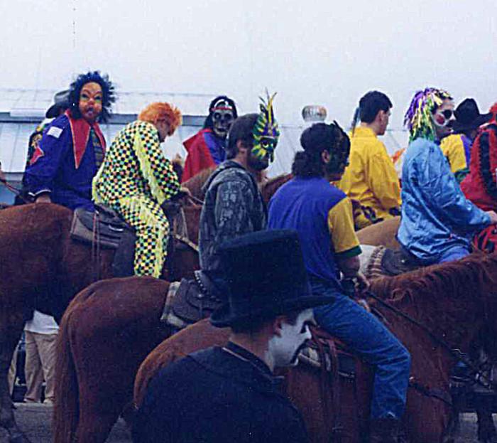 8) Courir de Mardi Gras
