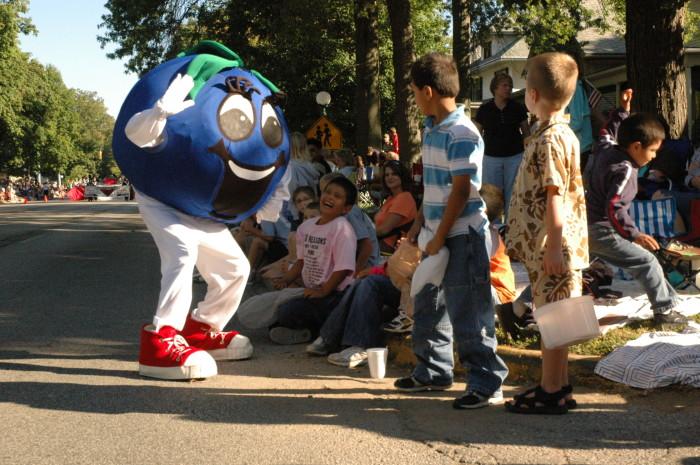 8. Marshall County Blueberry Festival