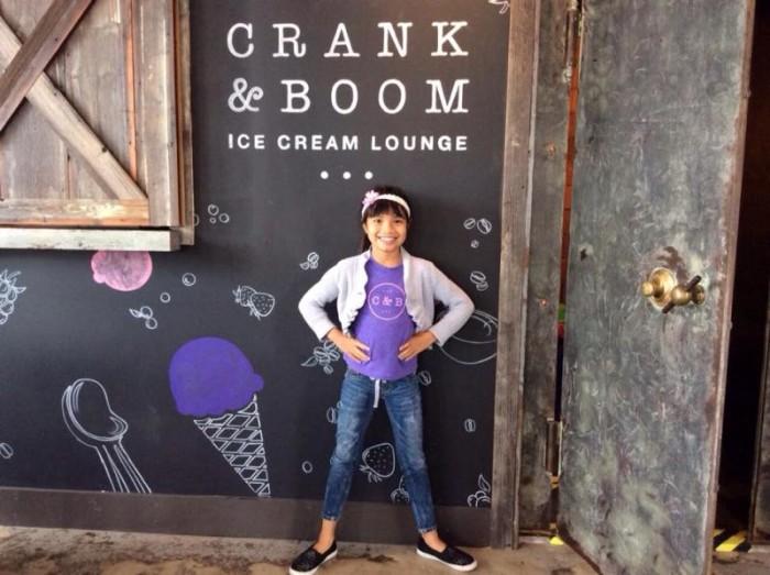 8) Crank and Boom Craft Ice Cream Lounge