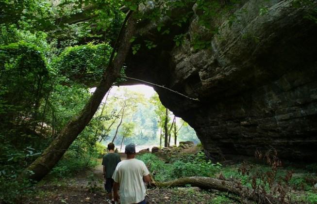 8. Creelsboro Natural Arch.