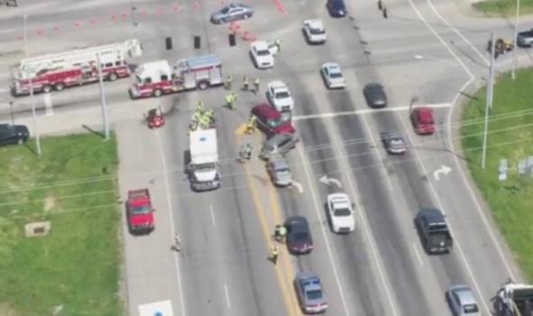 5. Danville 3444 accidents 42.5%.