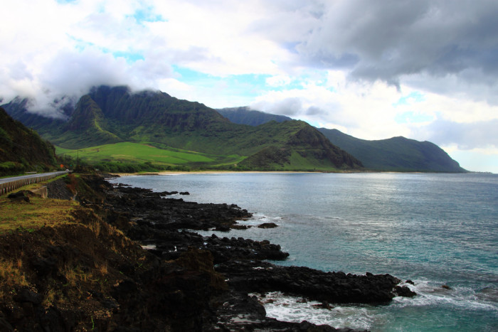 5) Drive Farrington Highway past Waianae – the Pacific on Oahu's Leeward coast is stunning, and the mountains are absolutely divine. Drive to the end of the road and continue on foot for the last 2.5 miles to reach the westernmost tip of the island.