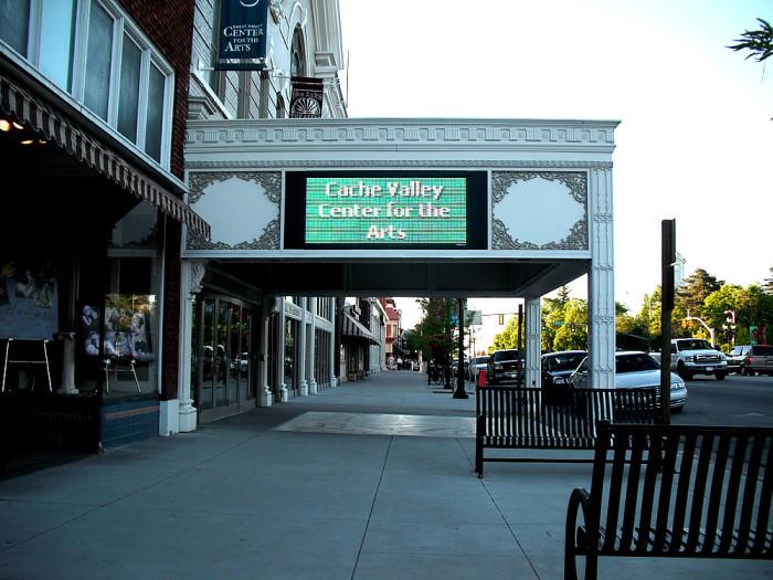 6) Ellen Eccles Theater, Logan