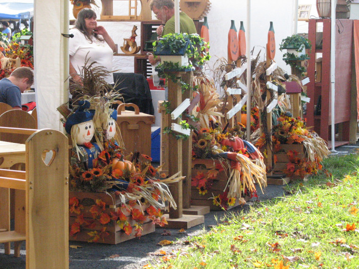 """7. Fall Festivals and Harvest Festivals are """"cropping"""" up everywhere."""