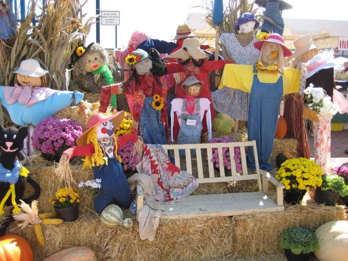 8) You cannot EVEN miss a southern fall festival.