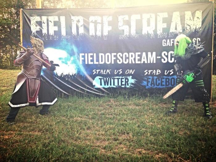 6. Field of Scream, 2480 Pacolet Hwy Gaffney