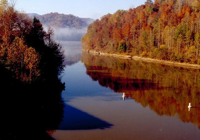 5) Fishing at Martin's Lake