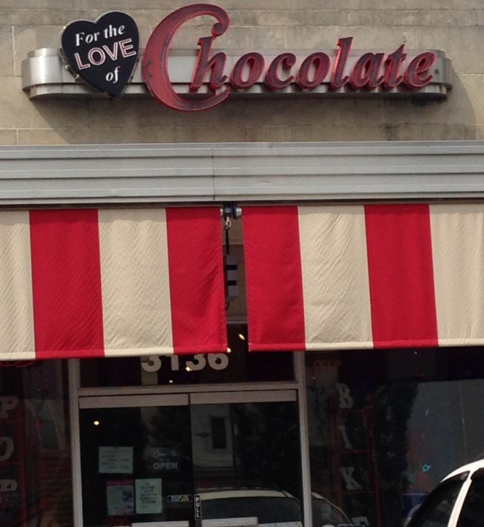 6. For the Love of Chocolate, Richmond