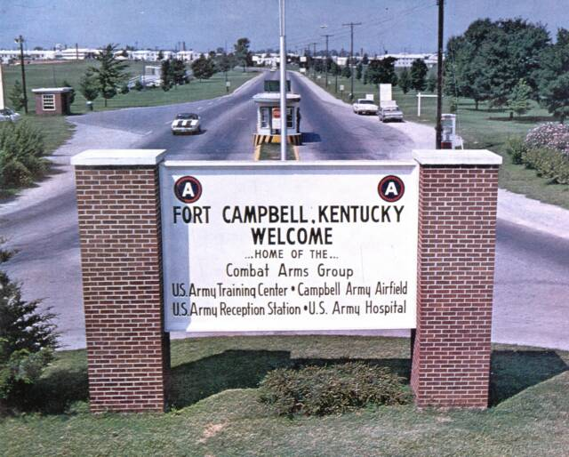 6. Fort Campbell