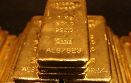 12. Gold at Fort Knox.